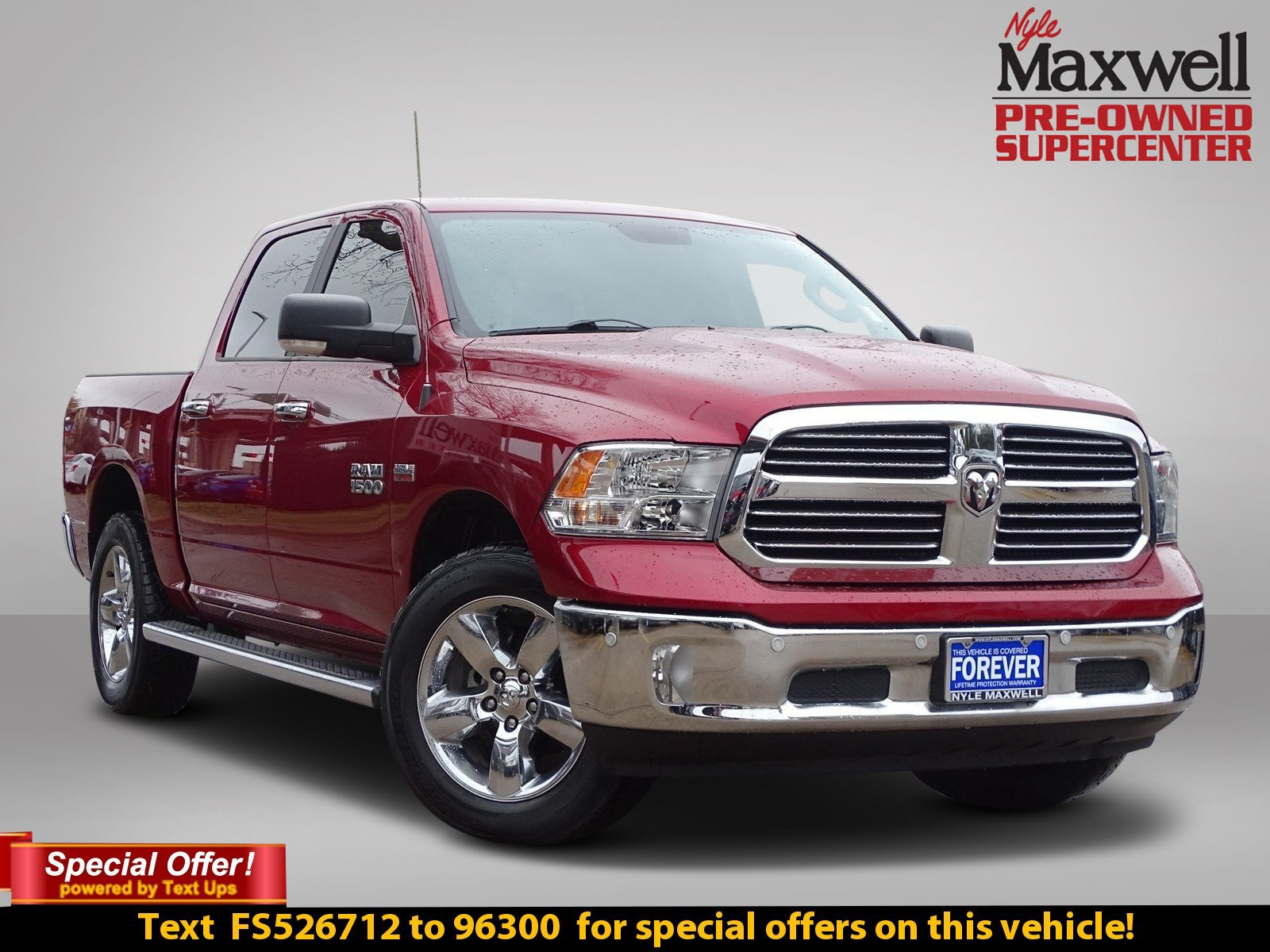 Certified Pre-Owned 2015 Ram 1500 Lone Star