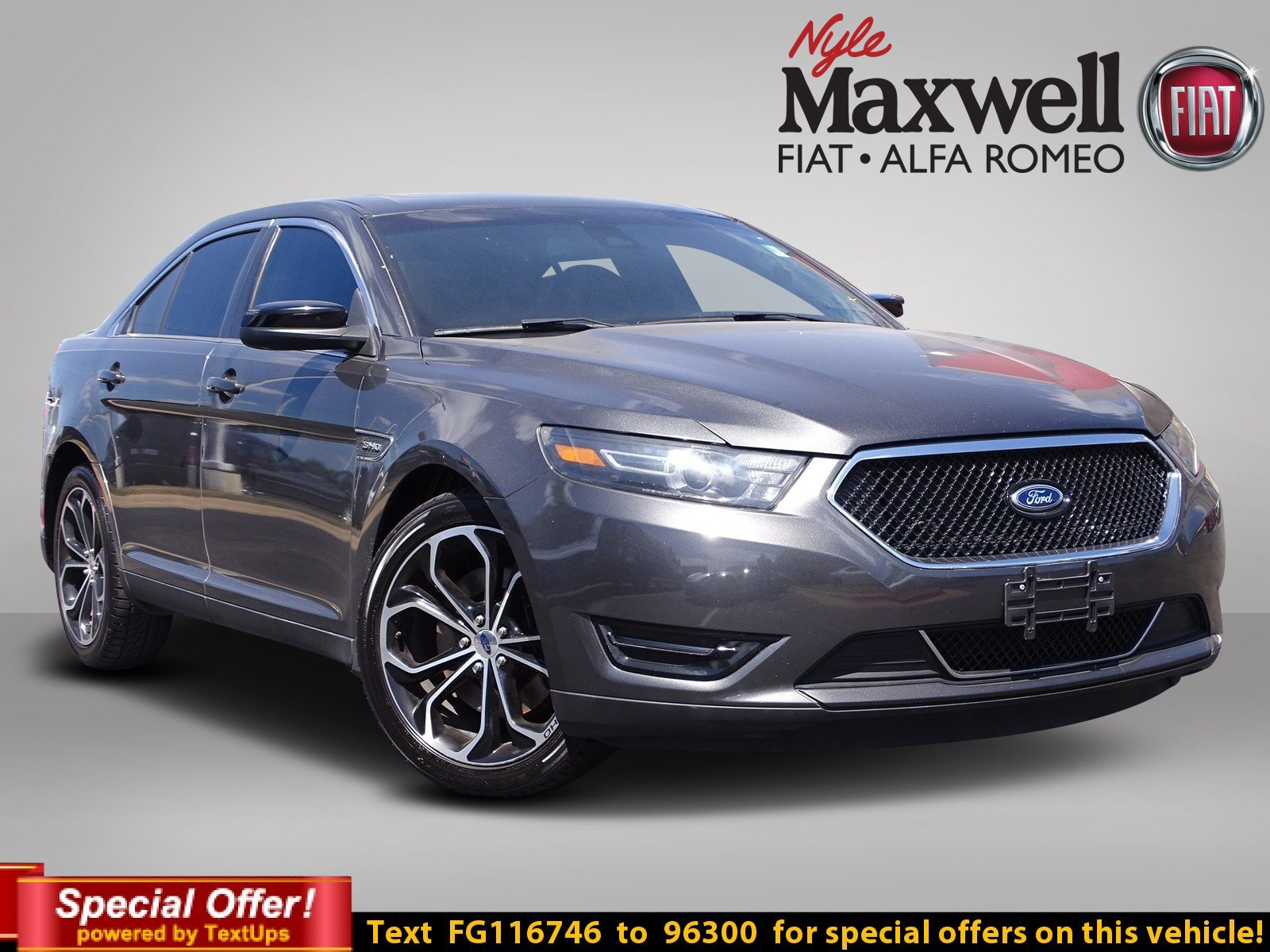Certified Pre-Owned 2015 Ford Taurus SHO
