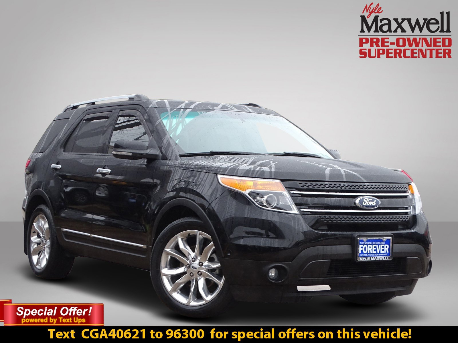 Certified Pre-Owned 2012 Ford Explorer Limited