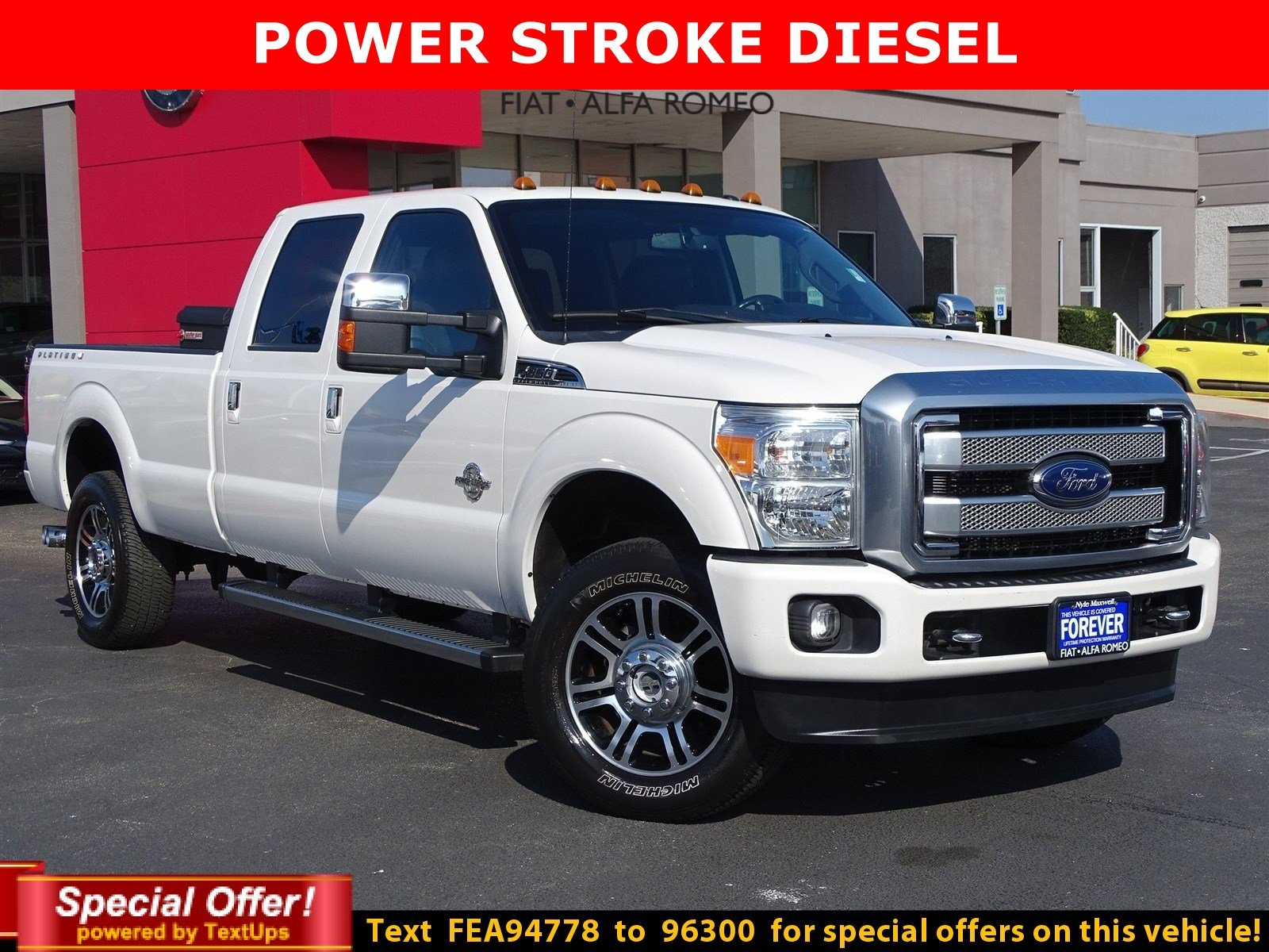 Certified Pre-Owned 2015 Ford Super Duty F-350 SRW Platinum