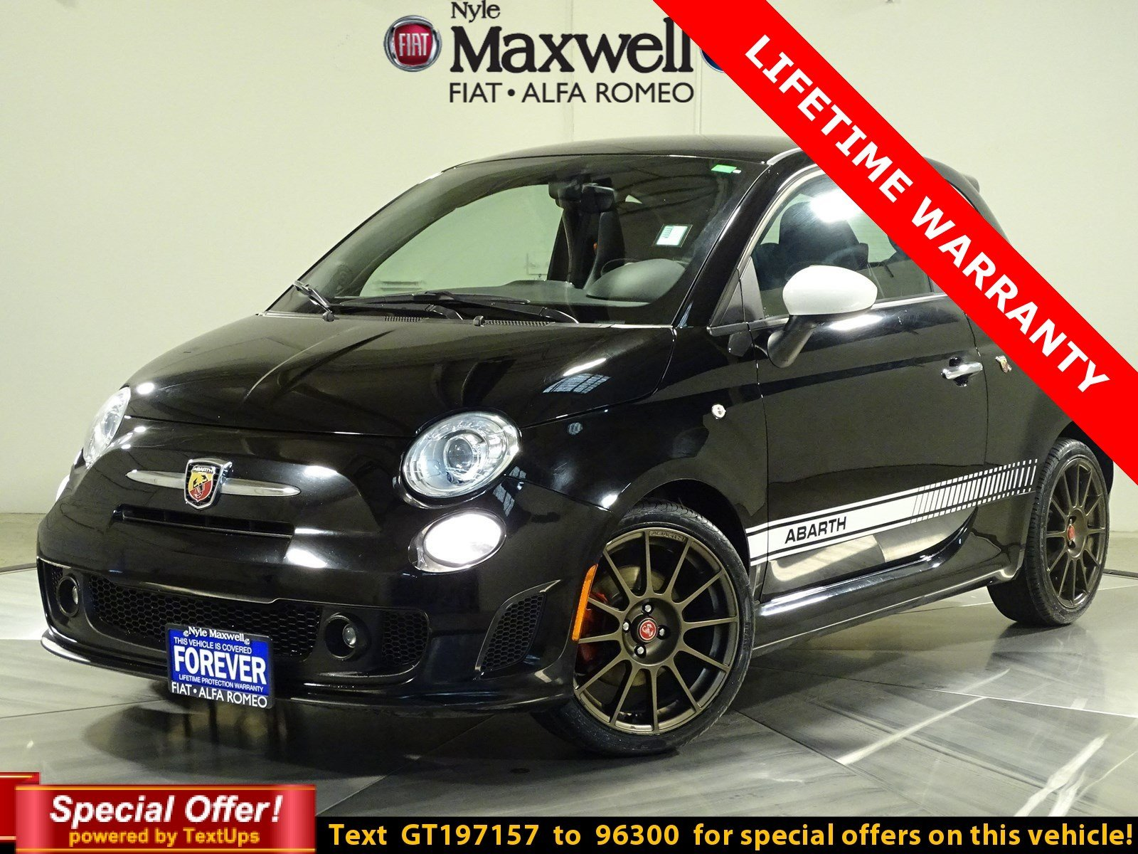 Certified Pre-Owned 2016 FIAT 500 Abarth