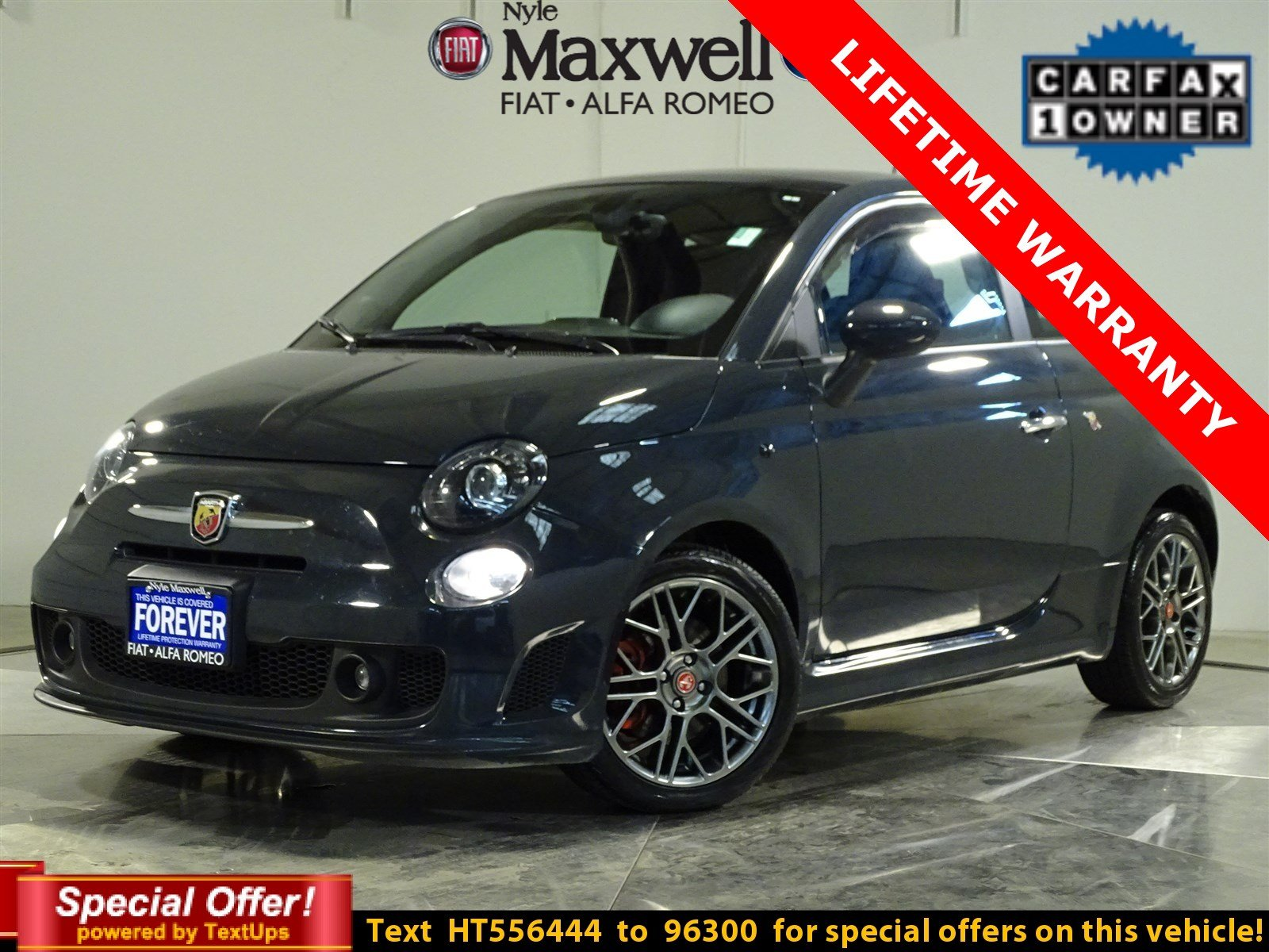 Dealer Certified 2017 Fiat 500 Abarth Fwd Hatchback Nyle Maxwell Gmc