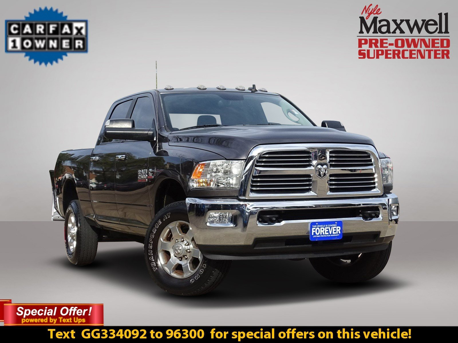 Certified Pre-Owned 2016 Ram 2500 Lone Star