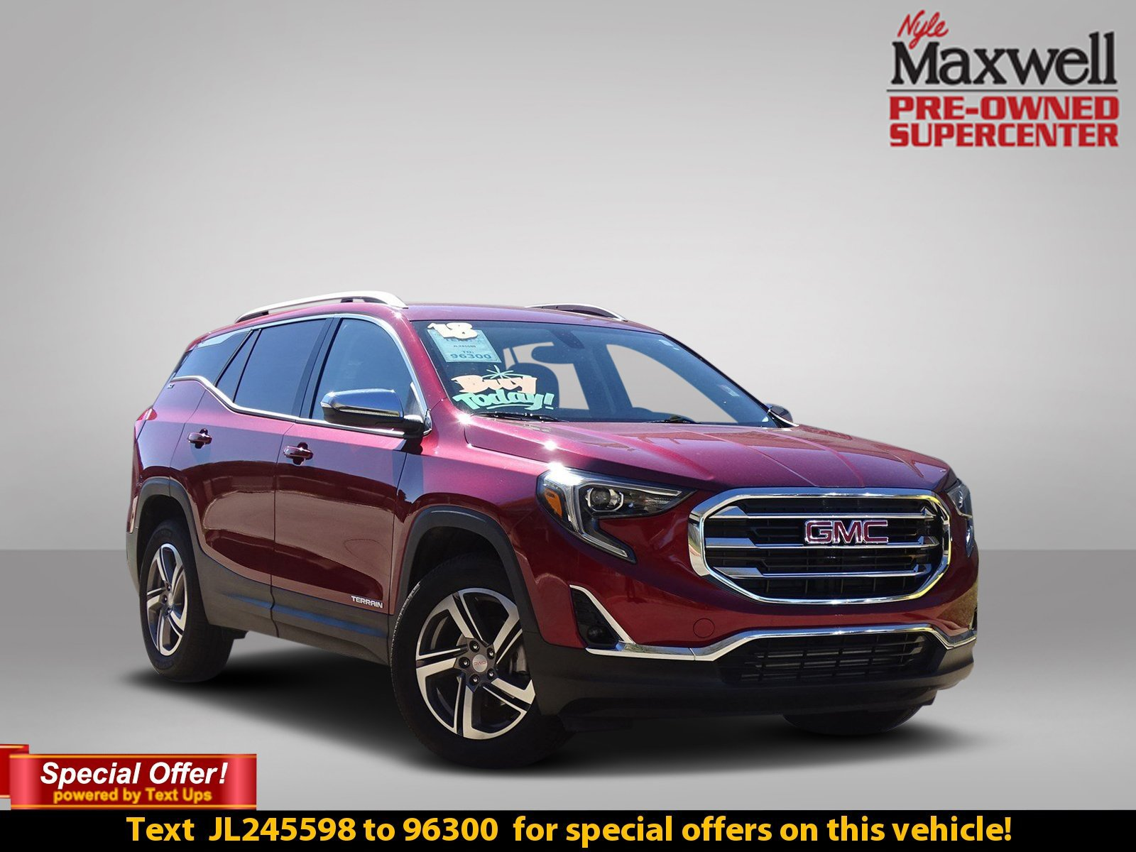 Certified Pre-Owned 2018 GMC Terrain SLT Diesel