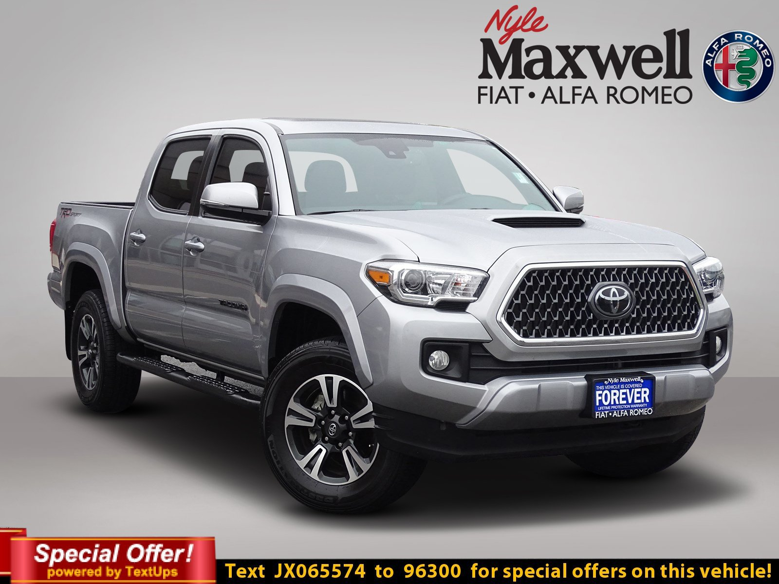 Certified Pre Owned 2018 Toyota Ta a TRD Sport Crew Cab Pickup in