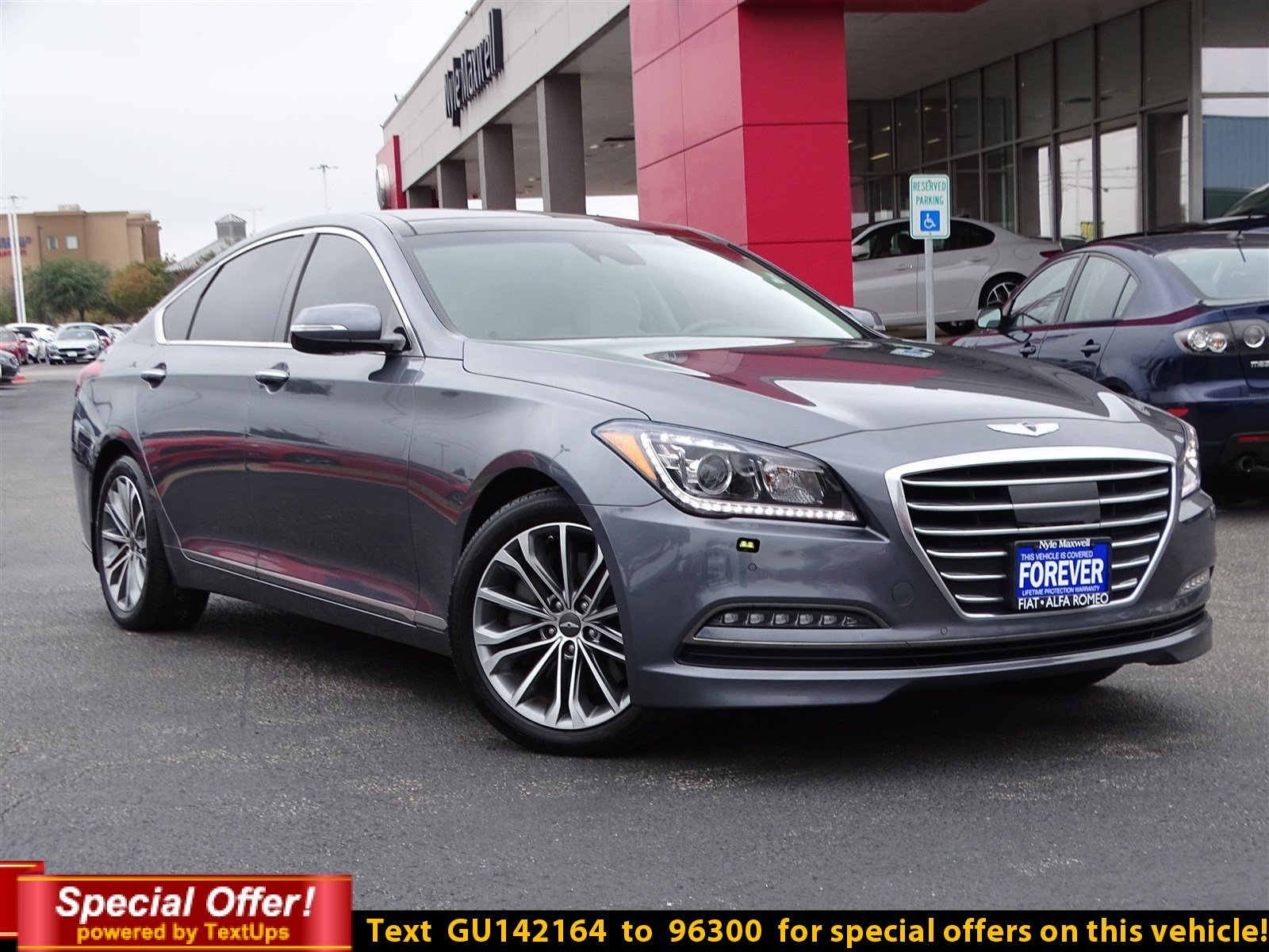 Certified Pre Owned 2016 Hyundai Genesis 3 8L 4dr Car in Round Rock