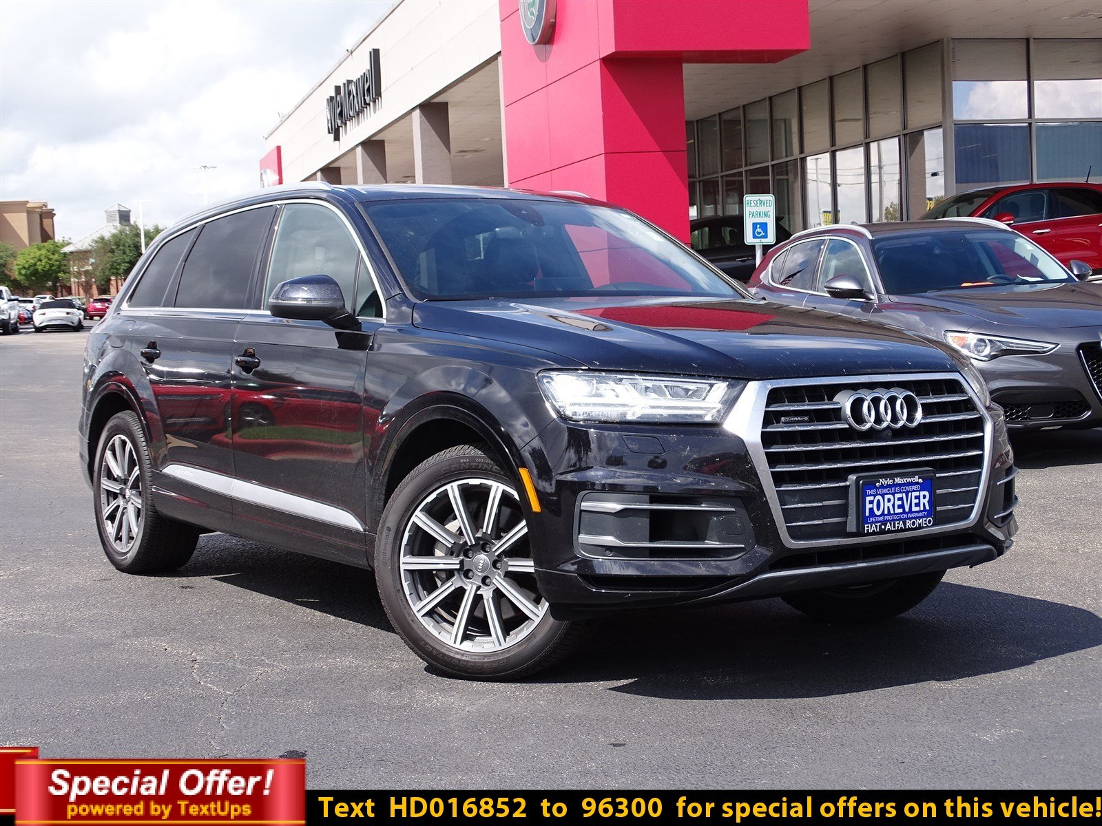 Pre Owned 2017 Audi Q7 Premium Plus Sport Utility in Round Rock