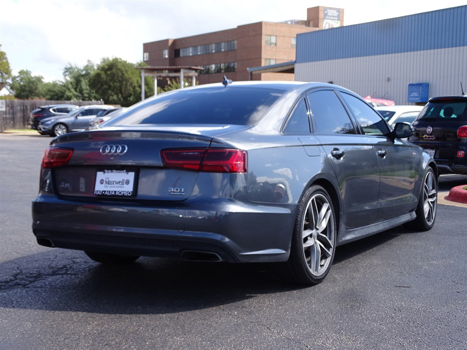 Pre Owned 2017 Audi A6 petition Prestige 4dr Car in Round Rock