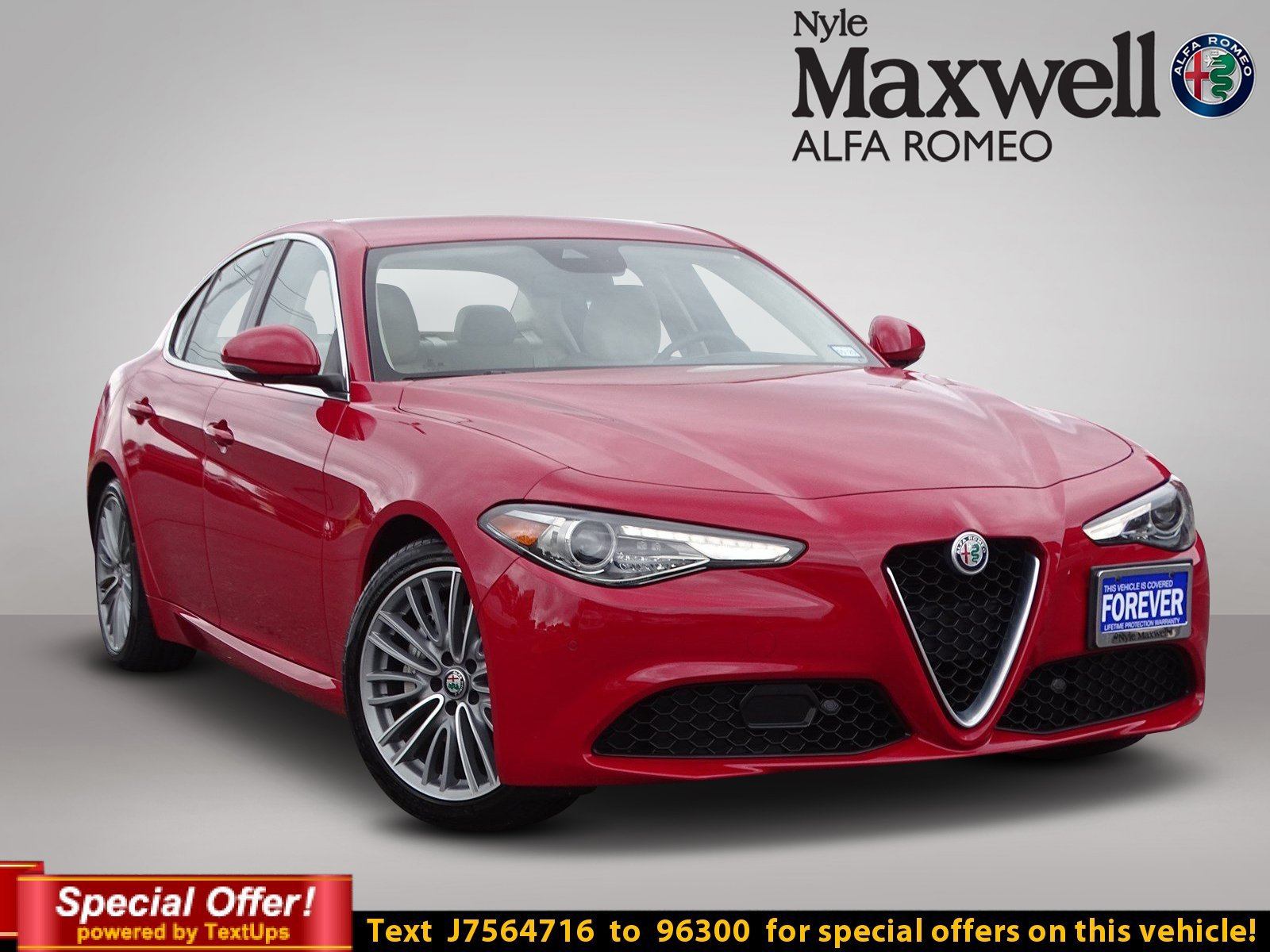 Certified Pre Owned 2018 Alfa Romeo Giulia Ti Lusso 4dr Car in Round