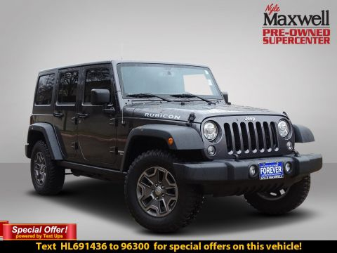 Certified Pre-Owned 2017 Jeep Wrangler Unlimited Rubicon