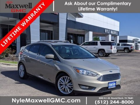 Pre-Owned 2016 Ford Focus Titanium FWD Hatchback