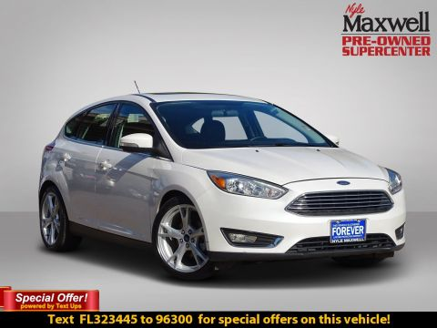 Certified Pre-Owned 2015 Ford Focus Titanium
