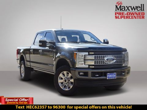 Certified Pre-Owned 2017 Ford Super Duty F-250 SRW Platinum