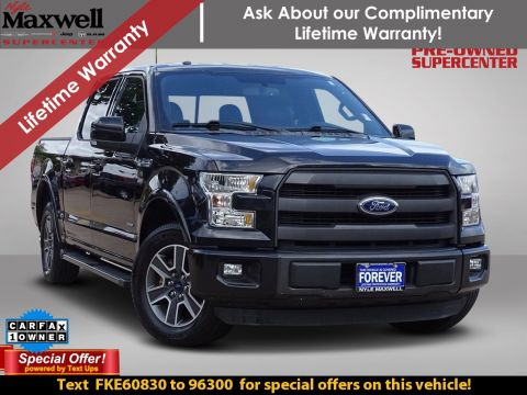 Certified Pre-Owned 2015 Ford F-150 Lariat RWD Crew Cab Pickup