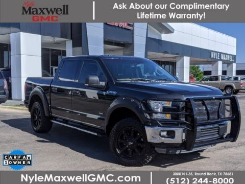 Pre-Owned 2015 Ford F-150 XLT 4WD Crew Cab Pickup