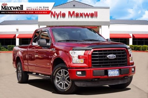 Pre-Owned 2016 Ford F-150 XLT 4WD Super Cab