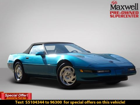 Pre-Owned 1995 Chevrolet Corvette