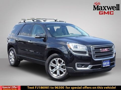 Certified Pre-Owned 2015 GMC Acadia SLT FWD Sport Utility