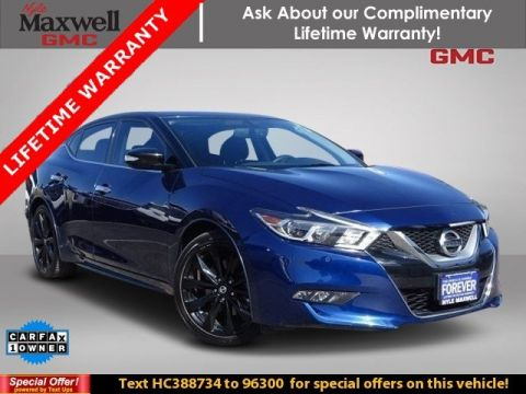 Certified Pre-Owned 2017 Nissan Maxima SR FWD 4dr Car
