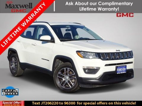 Certified Pre-Owned 2018 Jeep Compass Latitude 4WD Sport Utility