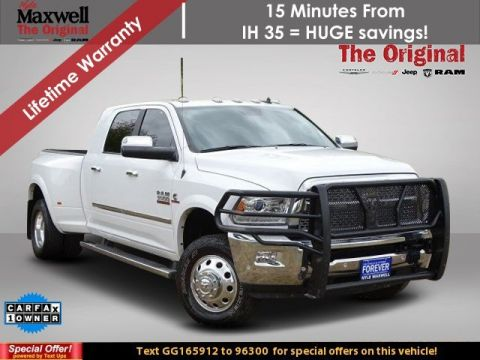 Certified Pre-Owned 2016 Ram 3500 Laramie 4WD Crew Cab Pickup