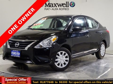 Certified Pre-Owned 2017 Nissan Versa Sedan S Plus