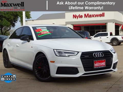 Pre-Owned 2018 Audi A4 Premium Plus AWD 4dr Car