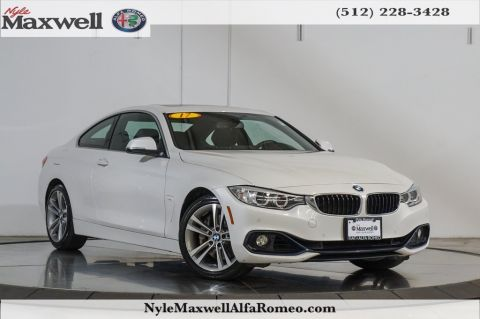 Pre-Owned 2017 BMW 4 Series 440i RWD 2D Coupe