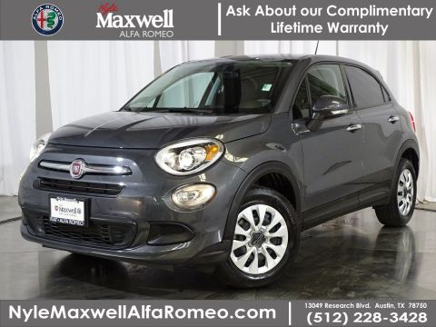 Certified Pre-Owned 2018 FIAT 500X Pop FWD Sport Utility